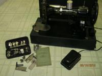Cleveland, OH White Rotary Electric Sewing Machine. It