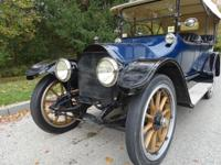 The 1914 Cadillac is the last and largest of the Model