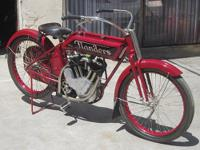 This very rare American made motorcycle is the only one