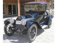THE 1915 CHEVROLET FOURS HAD THE SAME GENERAL