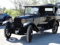 UNRESTORED 1915 DODGE SEDAN CONVERTIBLE, 4 DOOR MODEL,