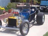 1915 Ford T Bucket for sale. Engine 327 Chevy 350hp 650