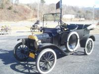 1915 Model T 3 Door Touring, Engine runs good and