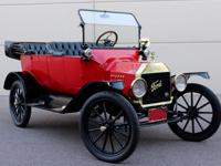 Beautiful 1915 Ford Model T.  rebuilt engine and