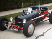 Ford Roadster. Custom body by SoCal automotive of