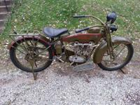 This bike was part of an estate of a collector. The