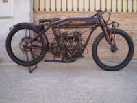 Indian Powerplus type Brooklands and TT Racer