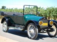 The 1916 Overland Model 86 was the biggest, grandest
