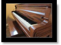 For sale to good home... 1917 Baldwin Baby Grand Model