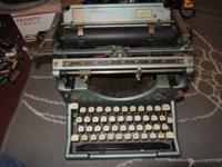 I have a classic Model 5 typewriter, but it looks to
