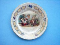 I am selling this plate as I found it. It is in good