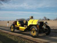 1918 Vanderbilt Cadillac Model-S Speedster. A remnant