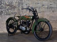 Bike One year after that, this 1919 Harley Davidson J