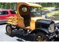 1920 Ford Pick-Up Fully restored. This collectors item