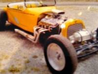 1920 Ford Hot Rod (MT) - $28,900 Exterior: Yellow