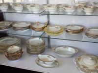 This is a 1920's 90 pc. Noritake Royal Pottery China