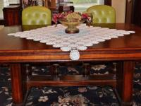 BEAUTIFUL DINING ROOM TABLE 1920'S VICTORIAN ERA MADE