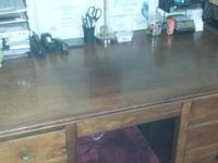 Lucas Brothers secretaries desk. I believe it is maple