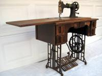 This is 1920's Montgomery Wards Damascus Sewing Machine