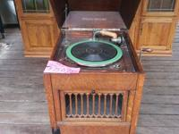 We have a working victrola from the 1920's in our