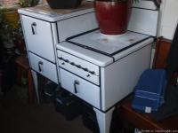 I have a 1920's white porcelain vintage gas range, Its