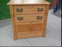 Very clean chest solid wood brass handles could deliver