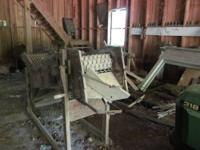 This is a working antique potato and onion grader. One
