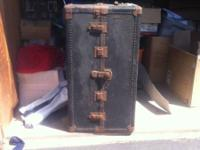 Classic 1925 Antique Hartmann Steamer Trunk with