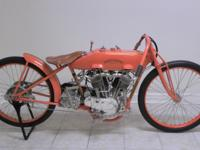 1922 Harley Davidson JD Racer.  This bike was rebuilt