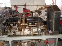 This is a completely rebuilt running engine which