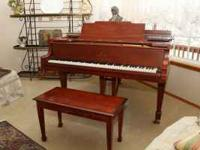 This pristine 1922 Steinway M was refurbished by a