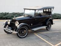 This is a 1922 Studebaker Big Six Model EK 7 Passenger