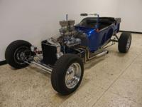 1923 Ford Bucket T. 302 V8 engine, automatic