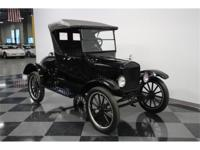 The Model T's powerplant was the trusty 177 cubic-inch