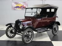 Stk#116 1923 Ford Model T Touring This is an all steel