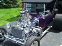 1923 Fiberglass T-Bucket, 305ci Chev. engine. Custom