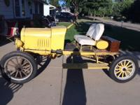 1923 Ford Model T Speedster. No rust - not running now