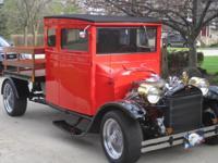 1923 ford show truck, 350/350 auto. air, p.s p.b p.w