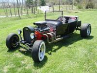 Up for sale is my 1923 Ford T bucket with chevy 350