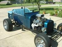 Selling custom built T bucket,custom made frame,very