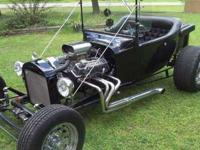 1923 Ford T Bucket, The First Hot Rod With a fiberglass