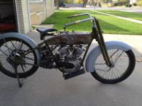 -- Harley-Davidson Project Bike 1923. My dad began to