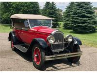 Year: 1923 Make: Packard Model: Clipper Transmission: