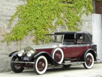 1923 Rolls Royce Silver Ghost, right-hand drive,
