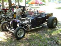 1923 T-Bucket SBC 350 with Turbo 350 trans, the car has