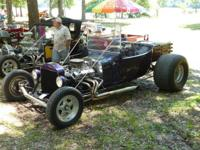 1923 T-Bucket SBC 350 with Turbo 350 trans, the car has