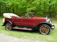 1924 Buick Touring 4S  The restoration was frame-off