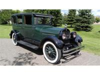 Year: 1924 Make: Cadillac Model: Fleetwood Exterior