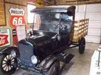"Up for sale is my 1924 Ford Model ""T"" stake bed body"