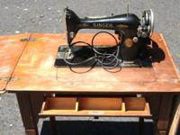 1924 Electric Singer Sewing machine in original